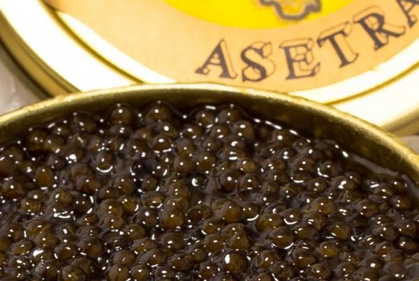 Caviar de esturión Asetra Nacari